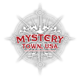 Mystery Town, USA Logo